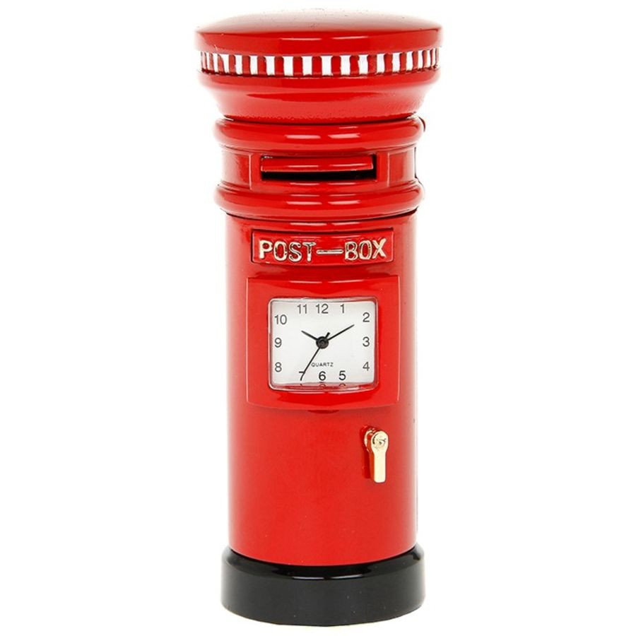 Post Box Miniature Clock