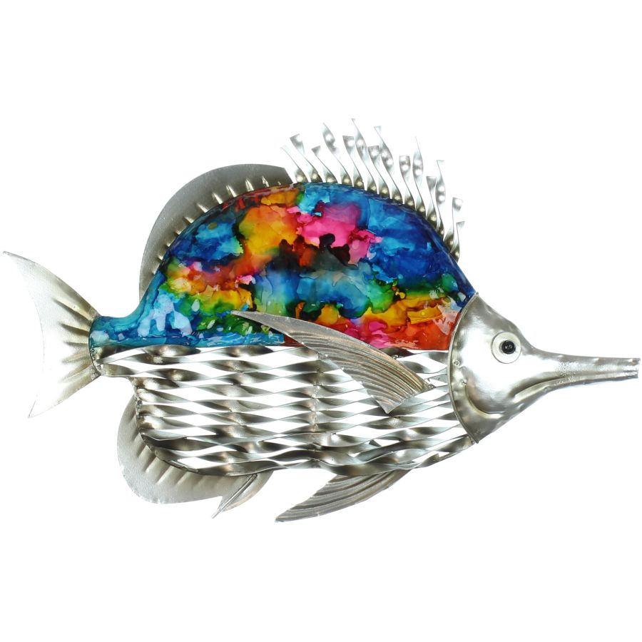Metal Fish Ornament