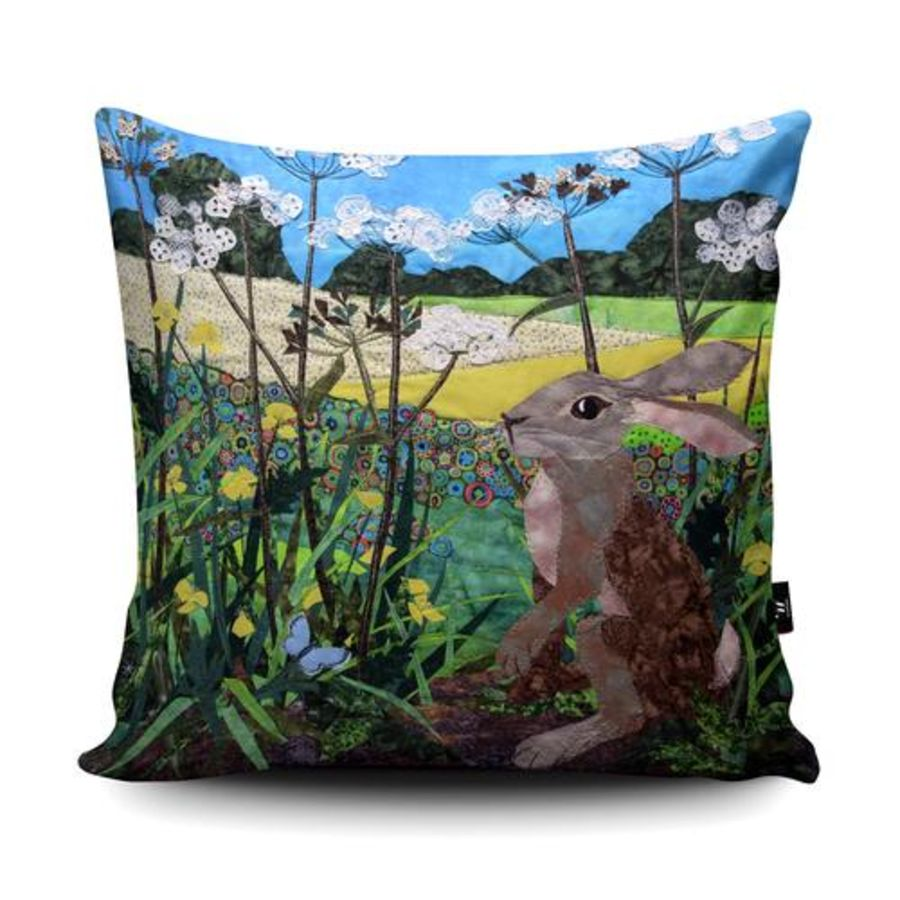 Buttercup Hare Cushion Cover