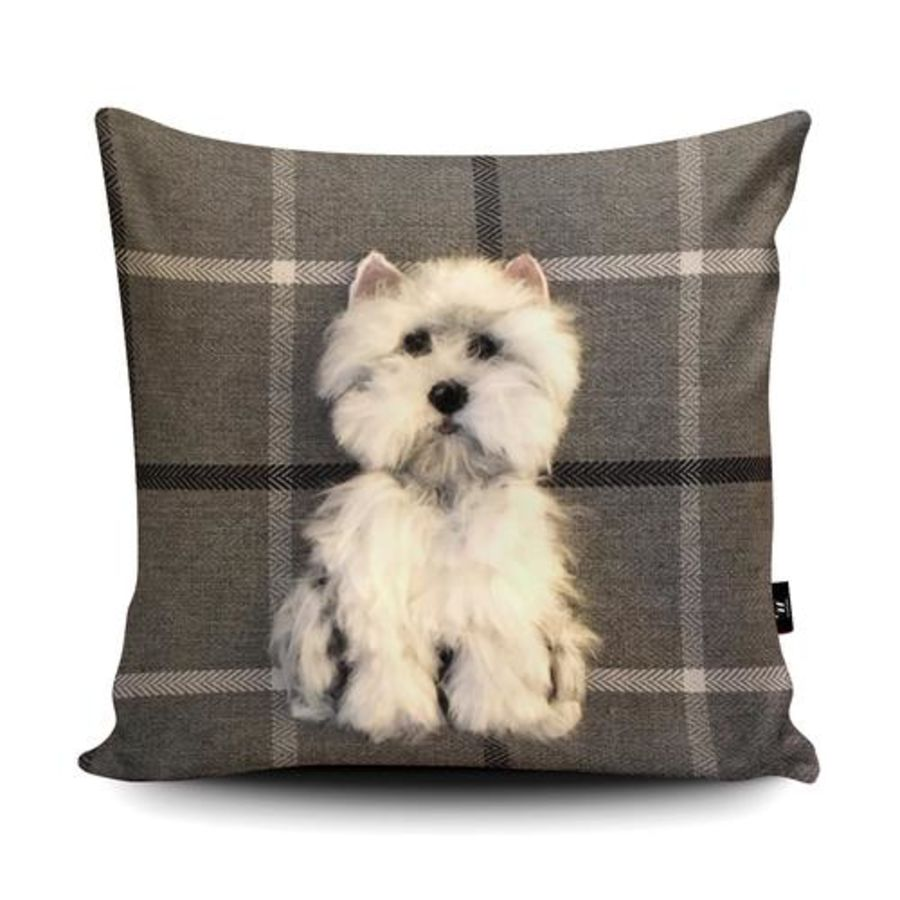 Westie Cushion Cover