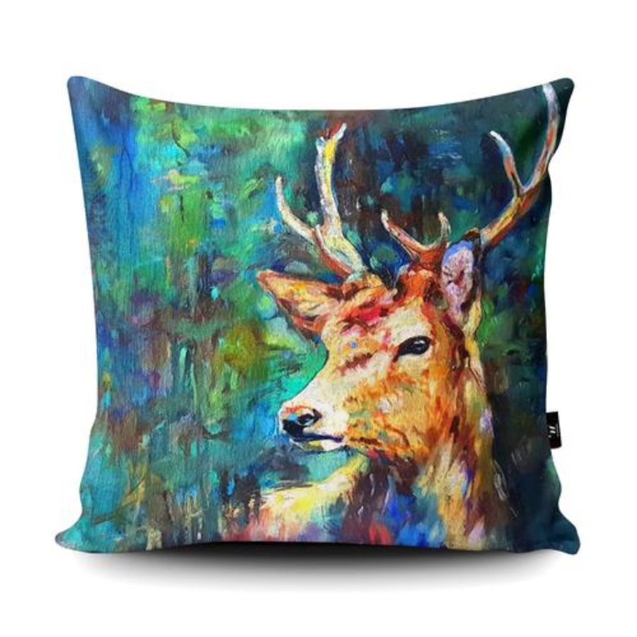 Watcher in the Wood Cushion Cover