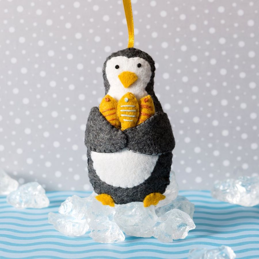Penquin Felt Craft Mini Kit