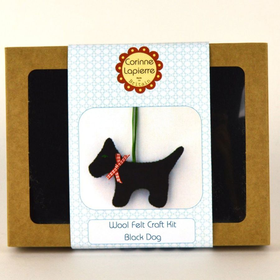 Dog Felt Craft Mini Kit (2 Colours)