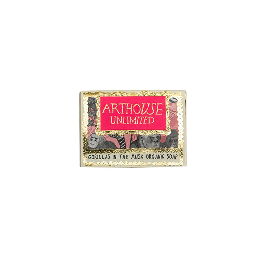 Gorillas Organic Soap by ARTHOUSE Unlimited