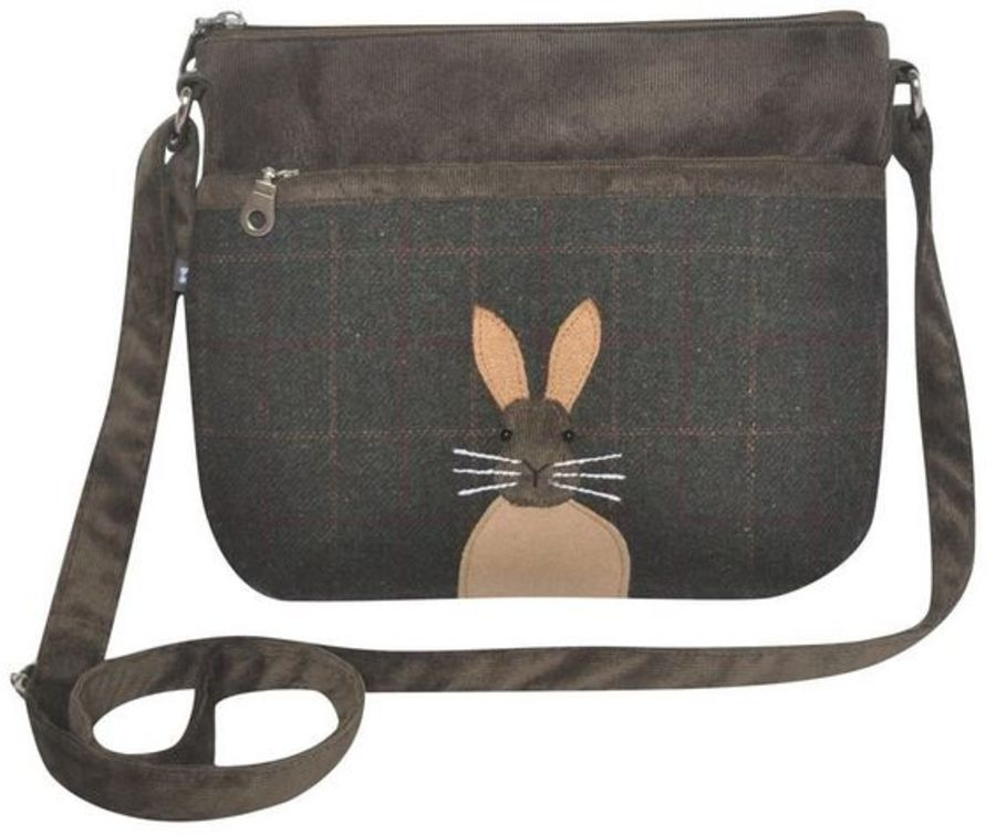 Animal APPLIQUE Messenger Bag - Hare