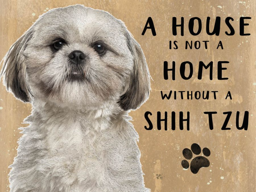 Shih-tzu Hanging Sign