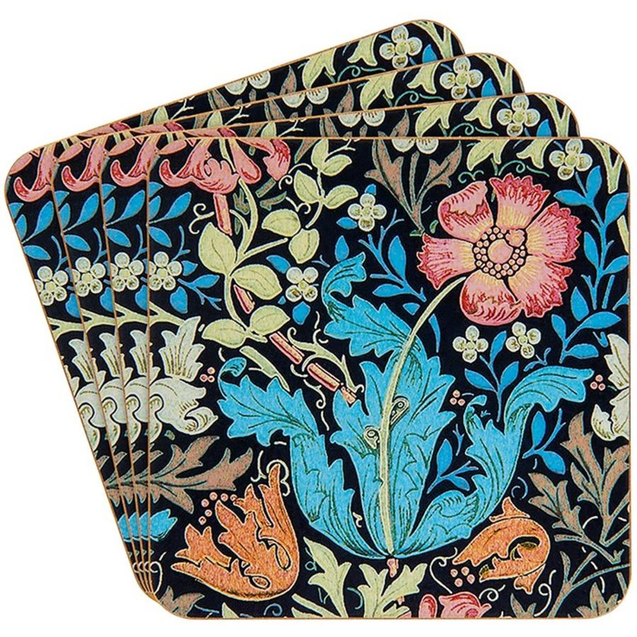 William Morris Compton Coasters