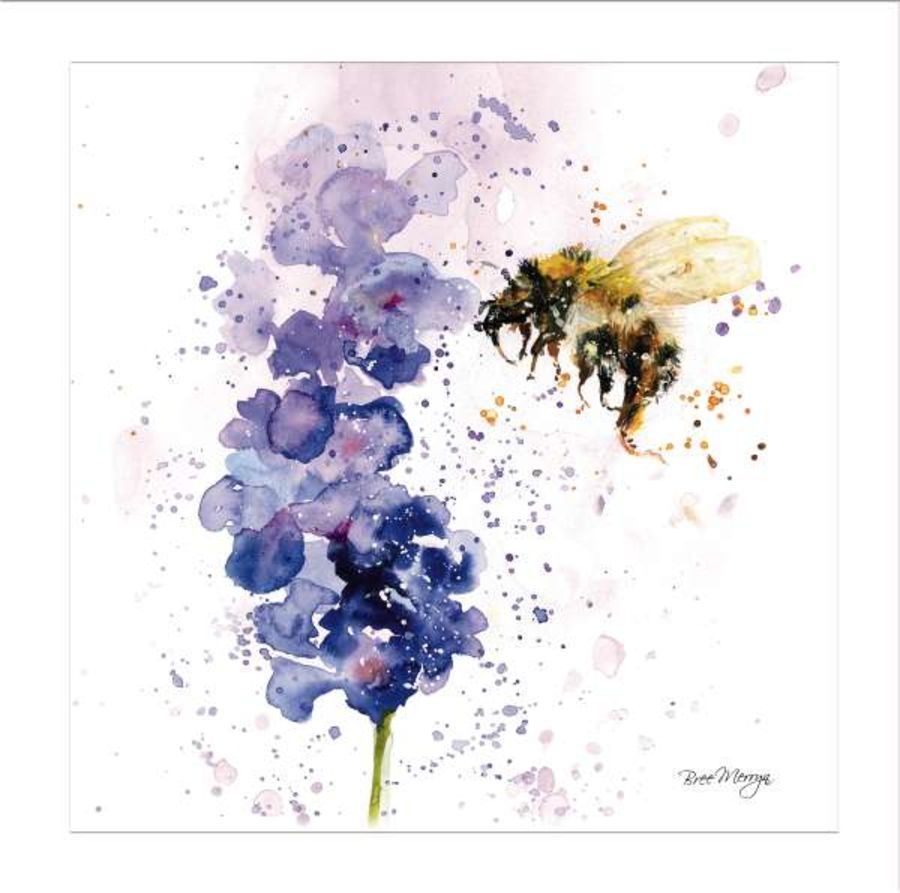 Lavender Mist Greetings Card