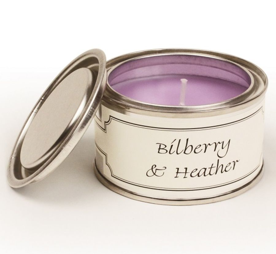 Bilberry & Heather Pintail Frangranced Candle