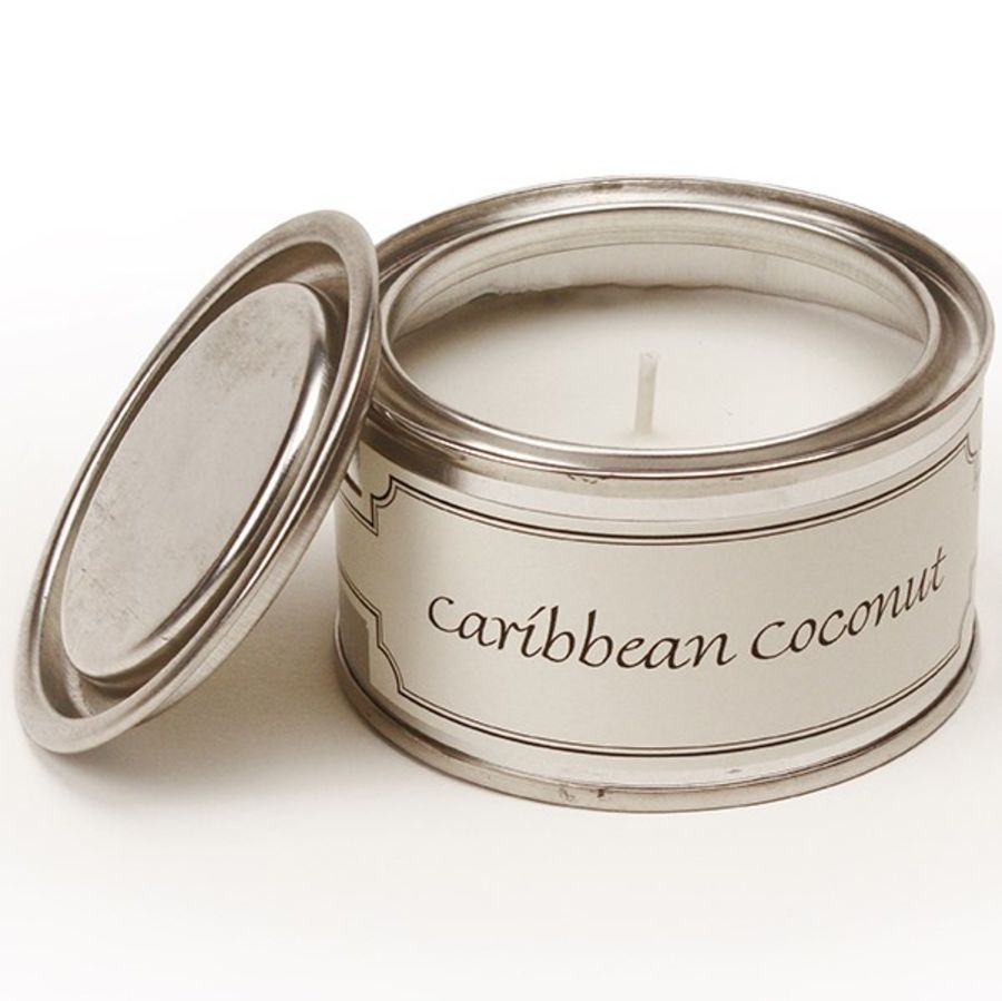 Caribbean Coconut Pintail Fragranced Candle