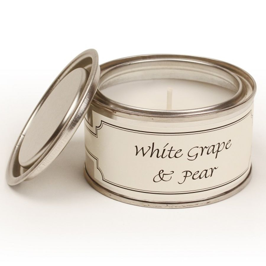 White Grape and Pintail Fragranced Candle