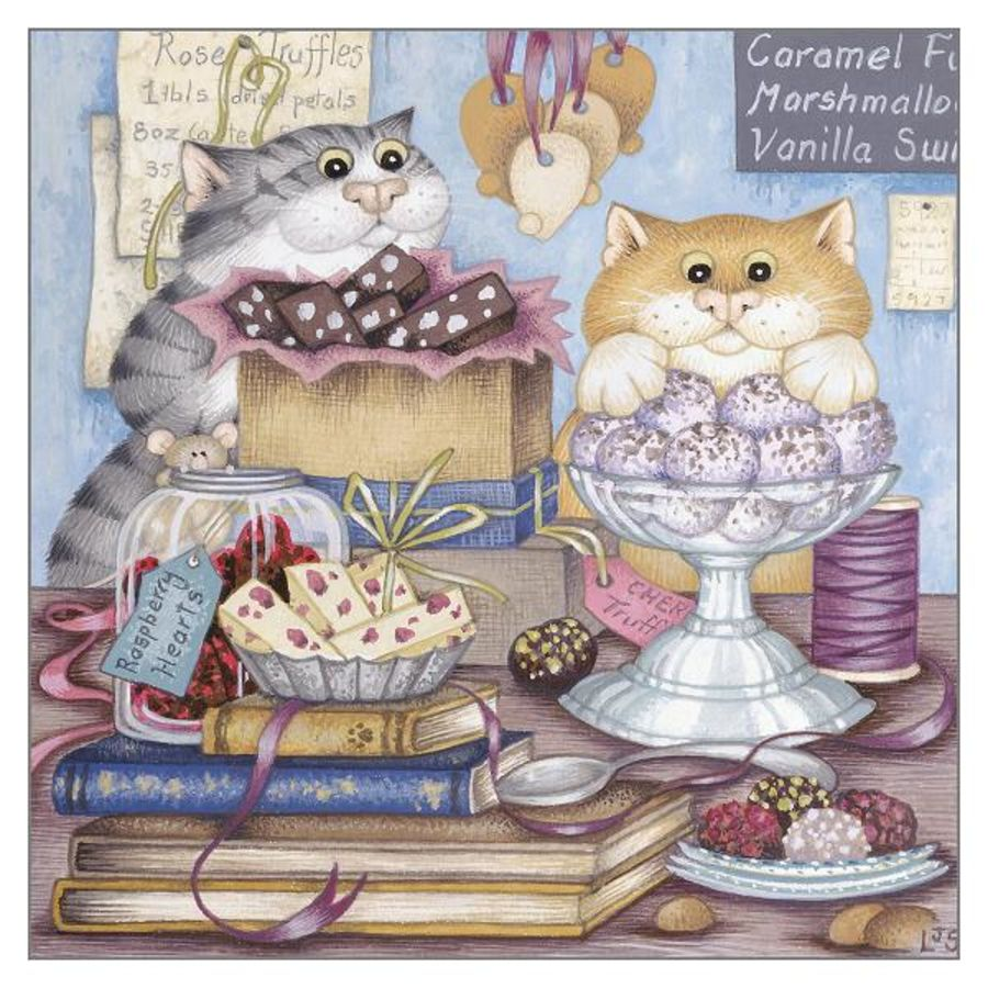 Dot and Mabel's Purfect Day Card