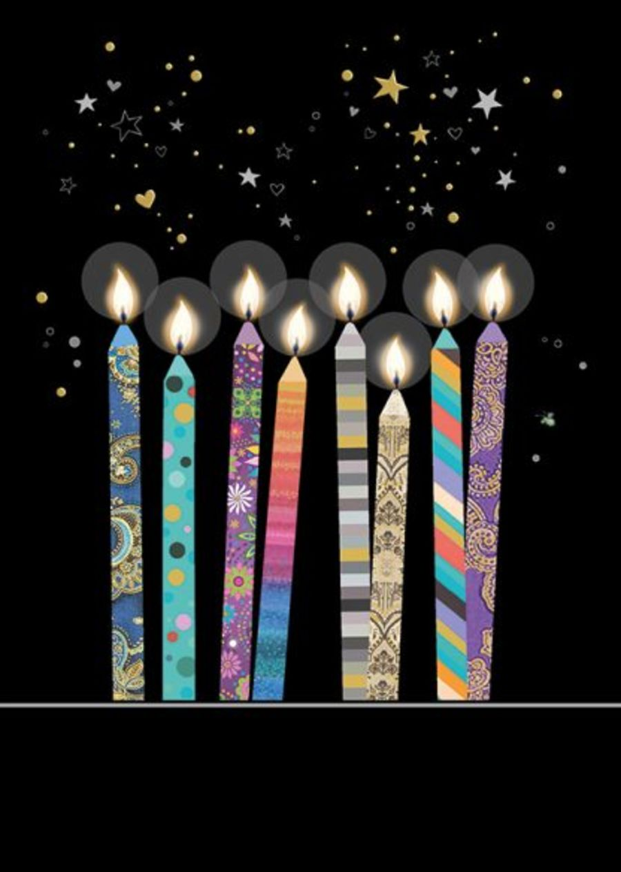 Candles card by Bug Art