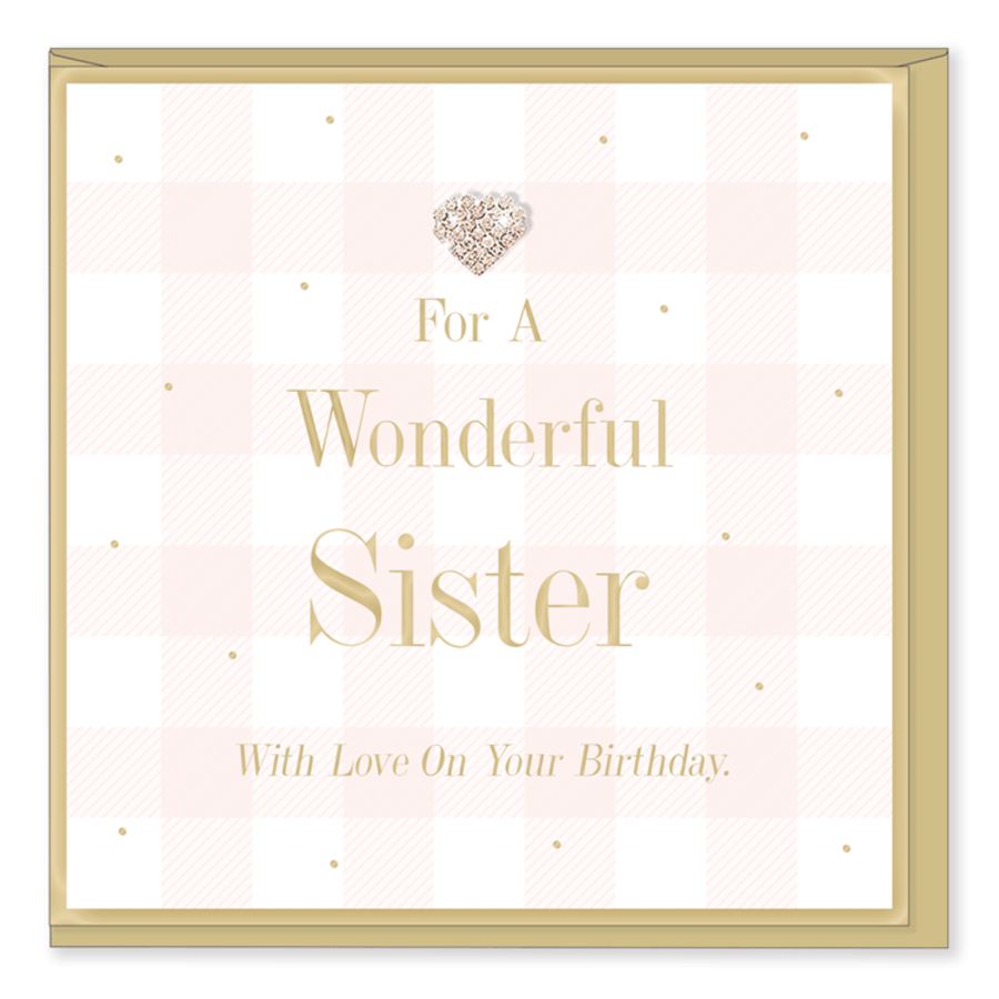 For a wonderful Sister