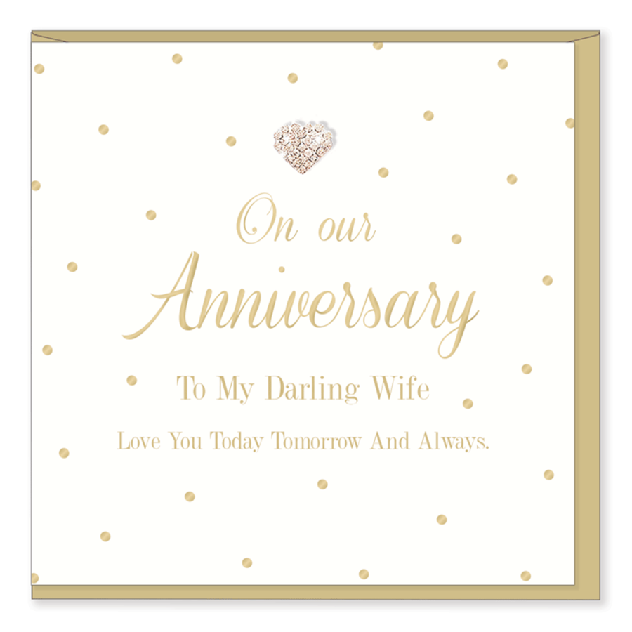 On Our Anniversary - To My Darling Wife