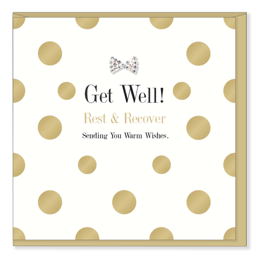 Get Well - Rest & Recover Card