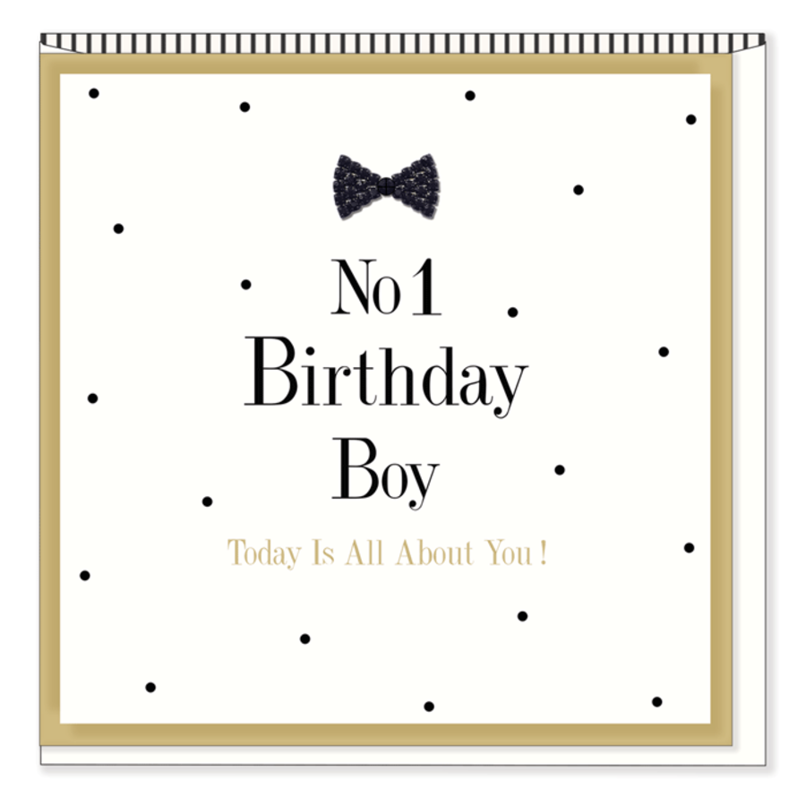No1 Birthday Boy - Today Is All About You