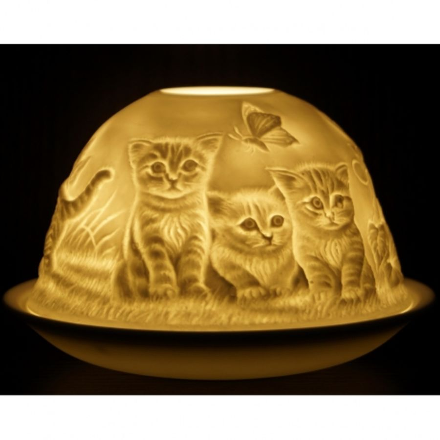 Kittens - Nordic Lights Candle Shade