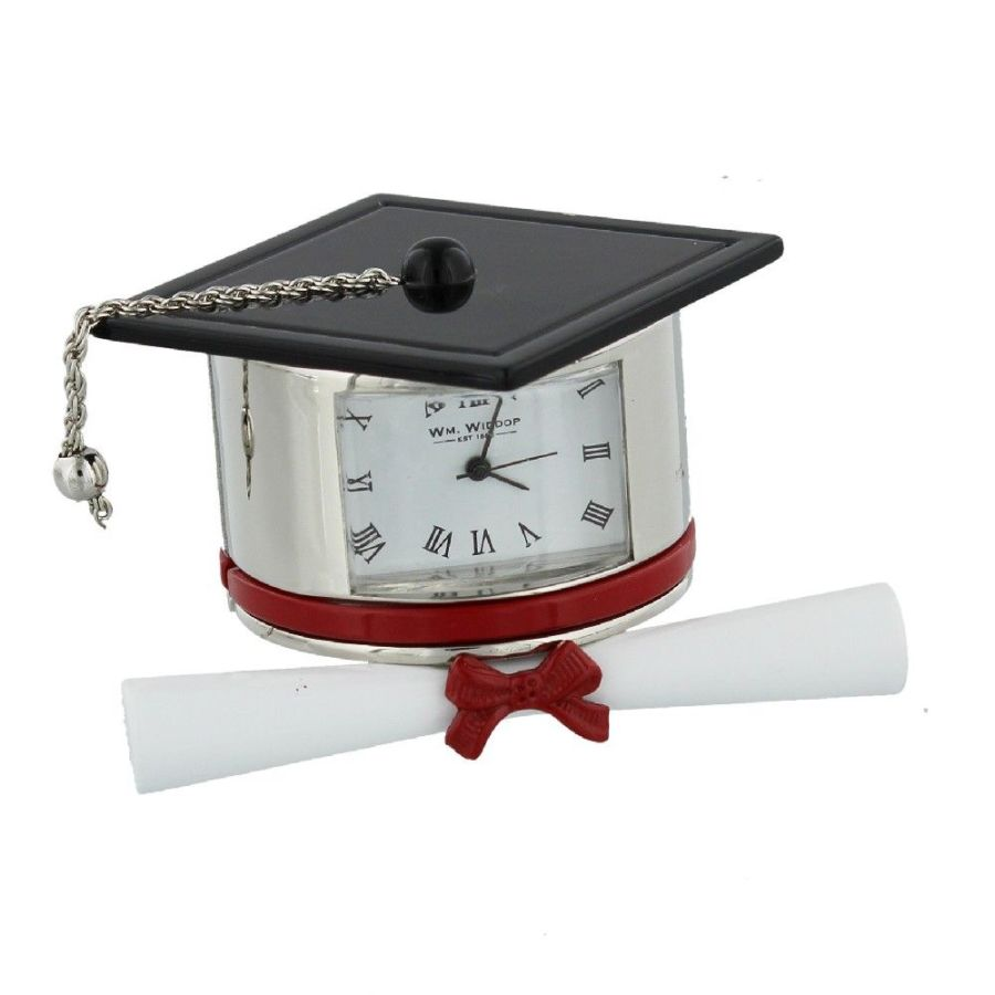 Graduation Hat Miniature Clock