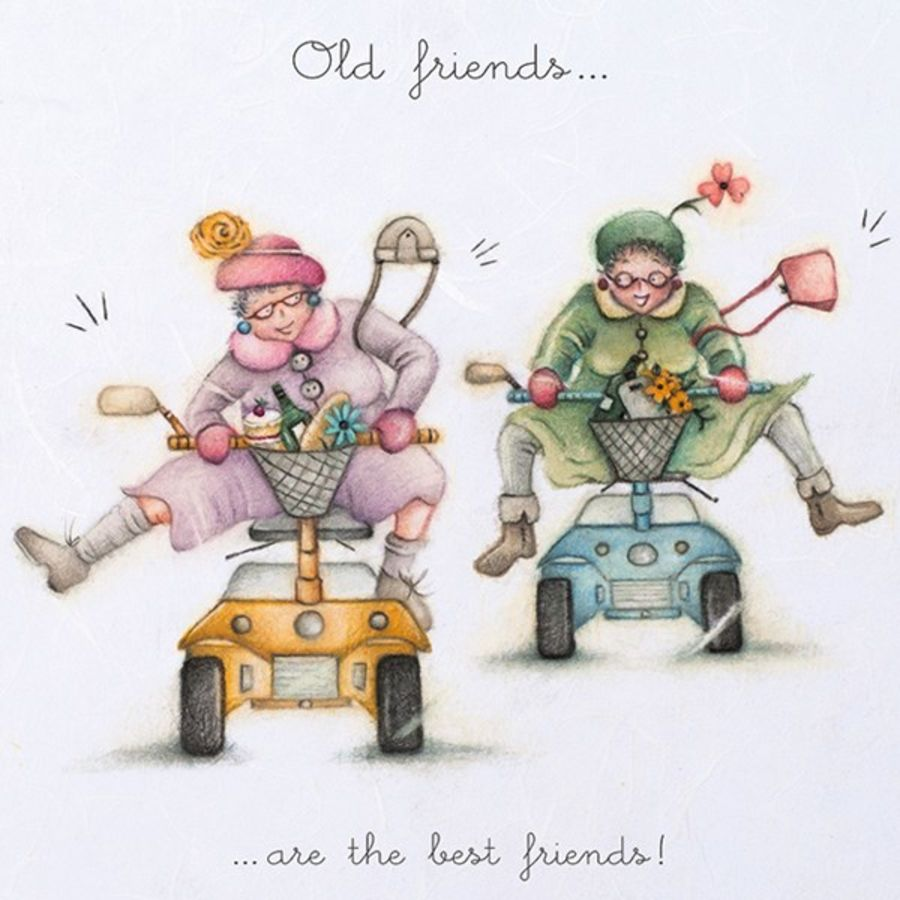 Old friends ... are the best friends!