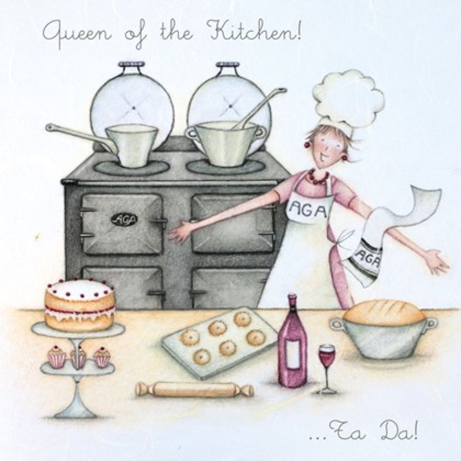 Queen of the Kitchen!