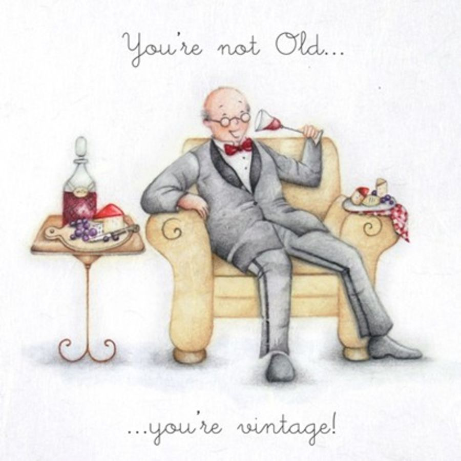You're not Old ...