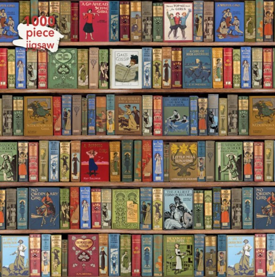 Adult Jigsaw Puzzle Bodleian Library: High Jinks Bookshelves