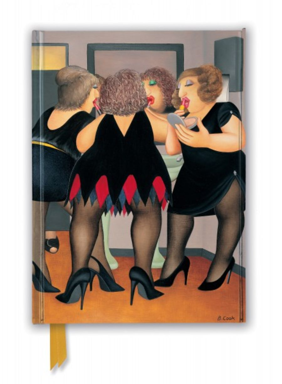 Beryl Cook: Going Out (Foiled Journal)