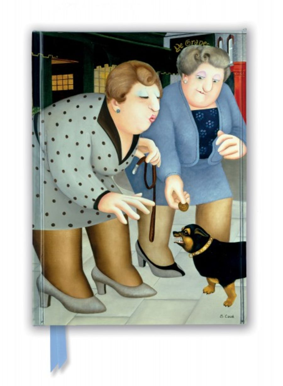 Beryl Cook: Dogs (Foiled Journal)