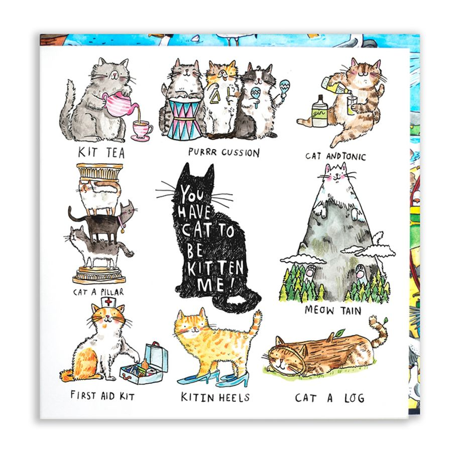 Cat to be kitten Card by Jelly Armchair
