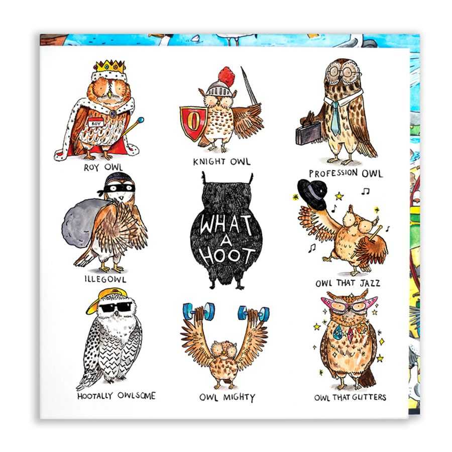 What a hoot Card by Jelly Armchair