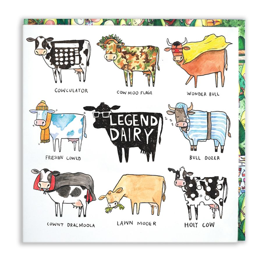 Legend dairy Card by Jelly Armchair