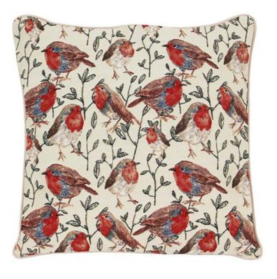 Robin Tapestry Cushion Cover by Signare