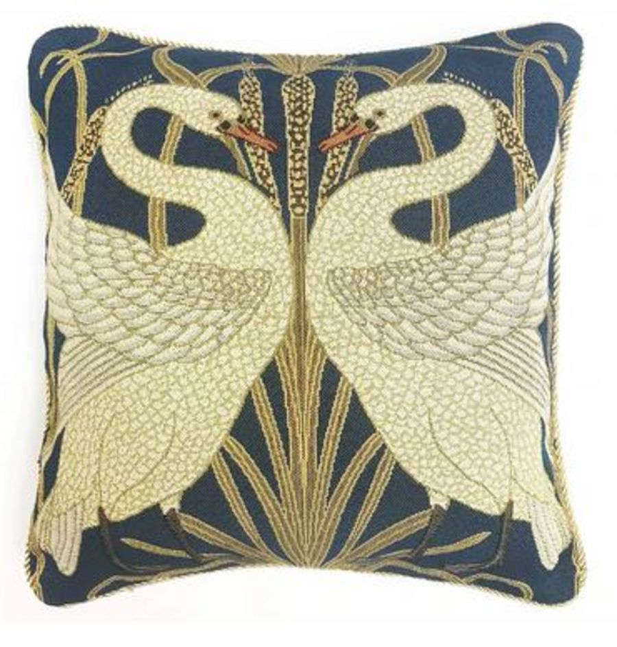 Walter Crane Swan Cushion Cover