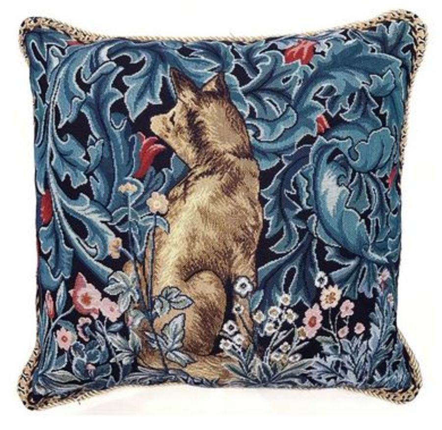 William Morris The Fox Cushion Cover