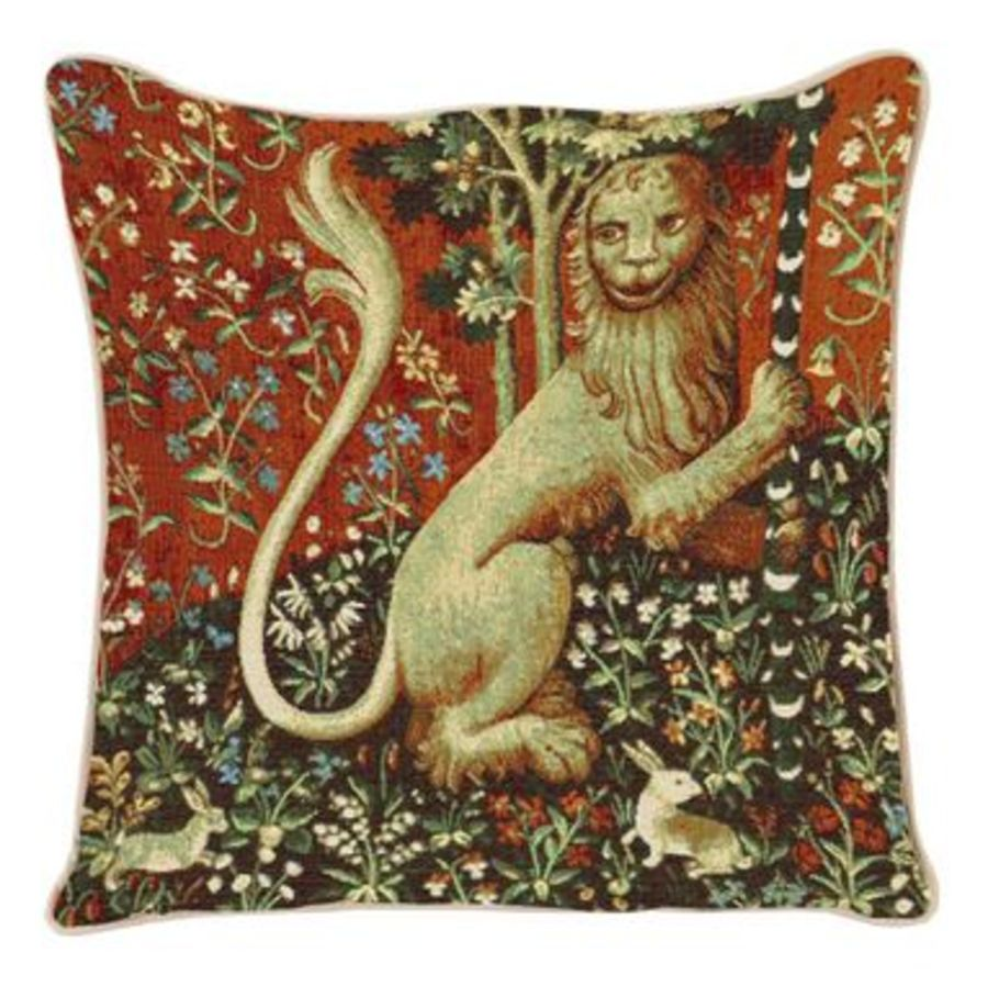 Lady and Unicorn - Lion Cushion Cover