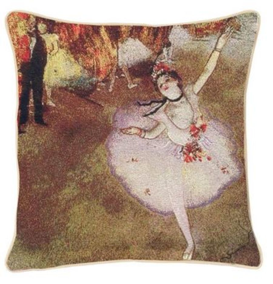 E.Degas-The Star Cushion Cover