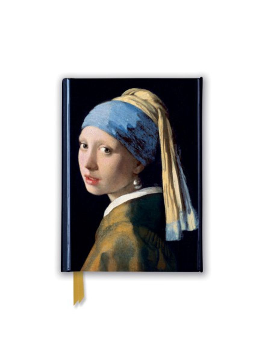 Johannes Vermeer: Girl With a Pearl Earring (Foiled Pocket Journal)