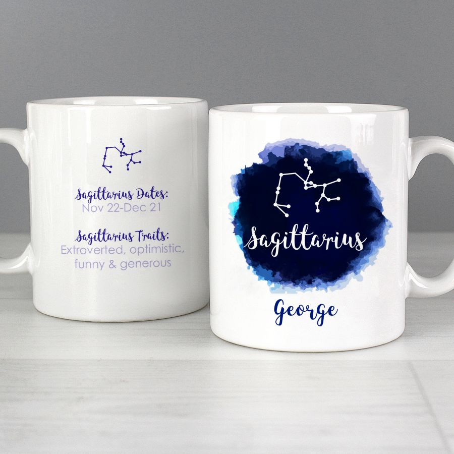 Personalised  Zodiac Star Sign Mug
