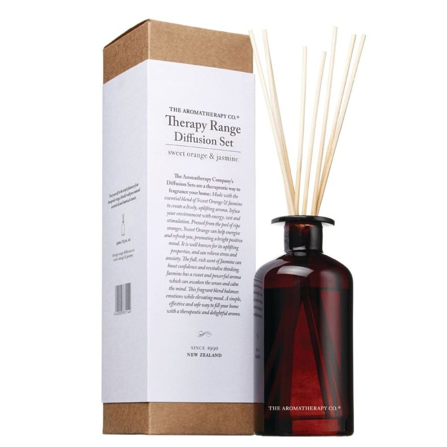 Orange & Jasmine - 250ml Therapy Reed Diffuser
