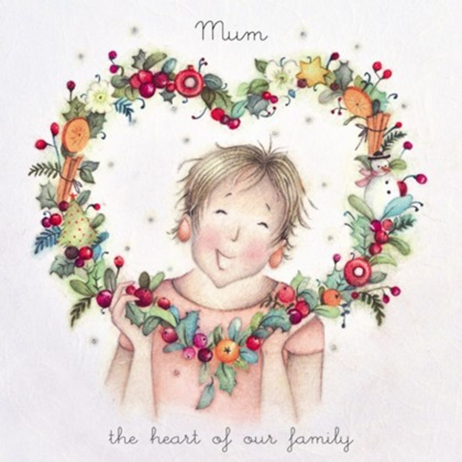 Mum, the heart of our family