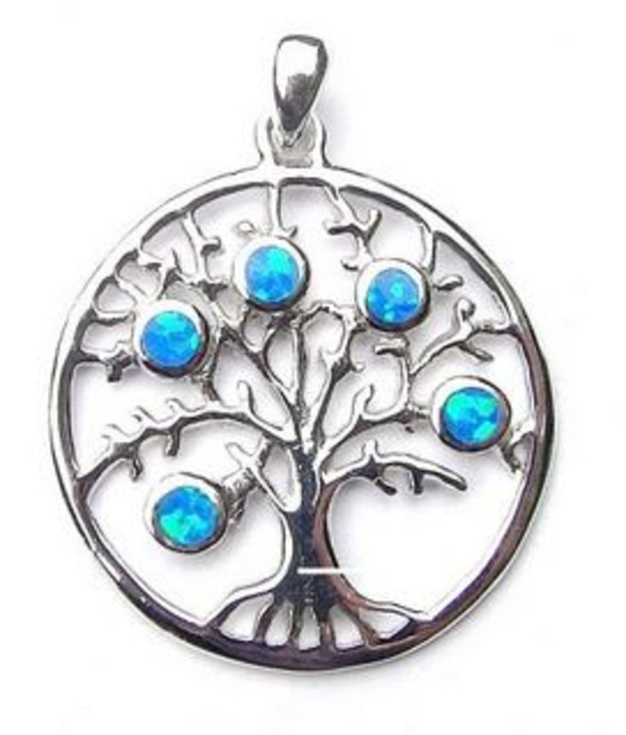 925 Silver Tree of Life Pendant & Chain