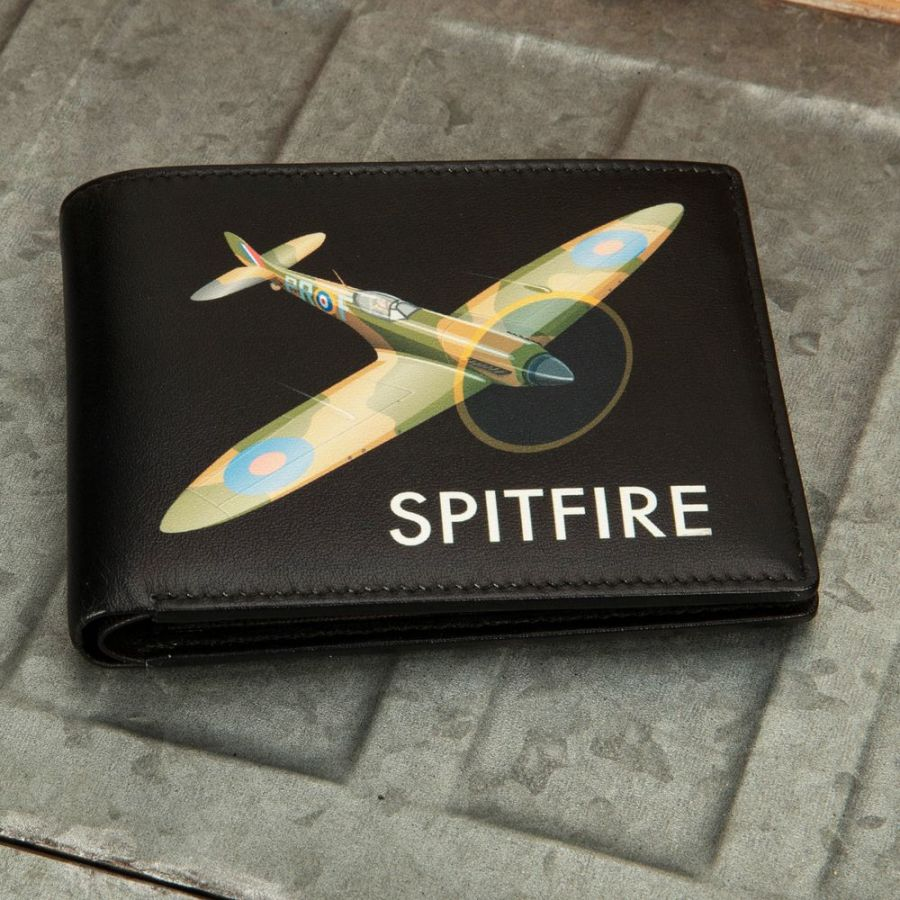 (SOLD OUT DUE SOON) Spitfire - Military Heritage Leather Wallet