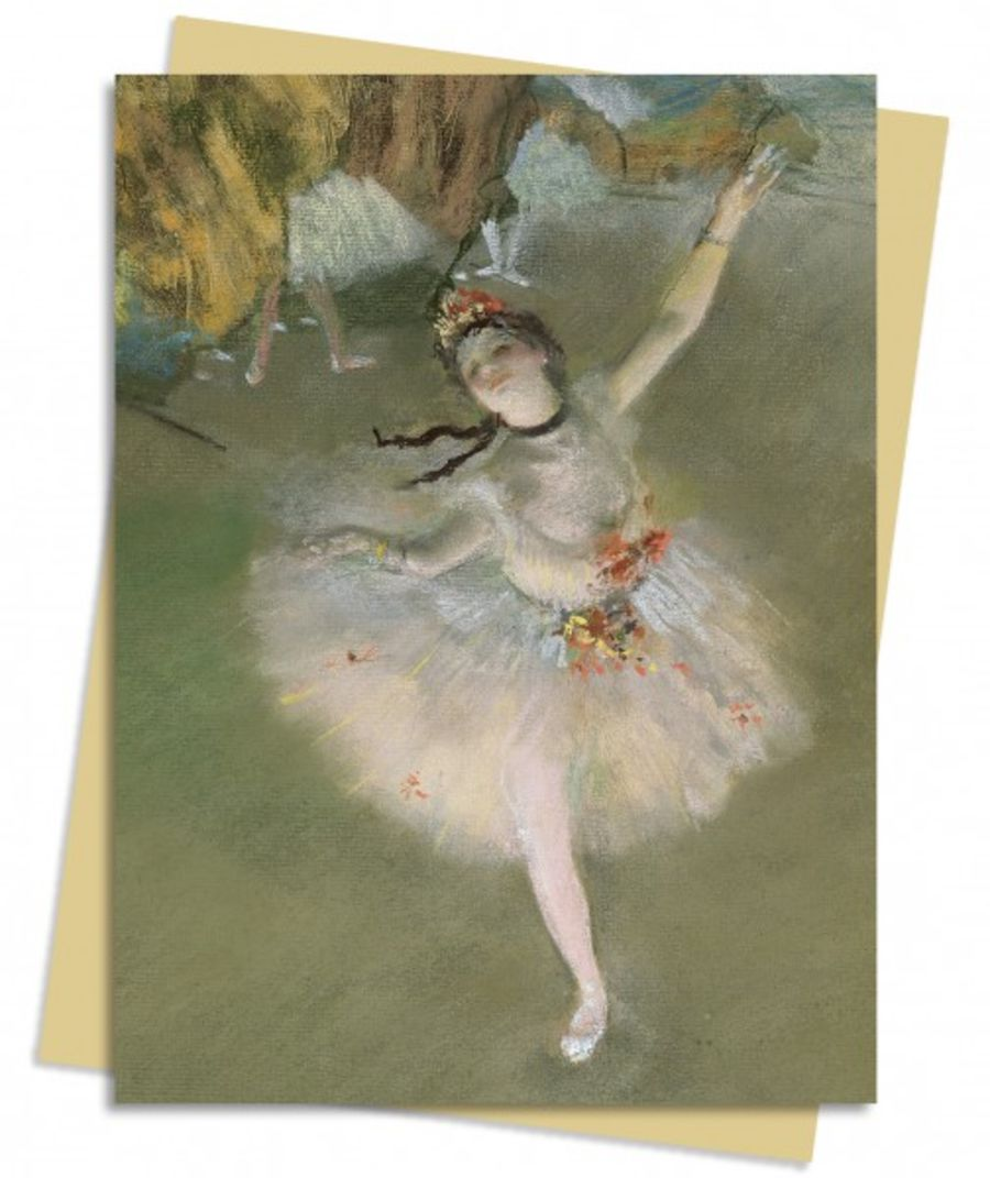 The Star (Degas) Greeting Card