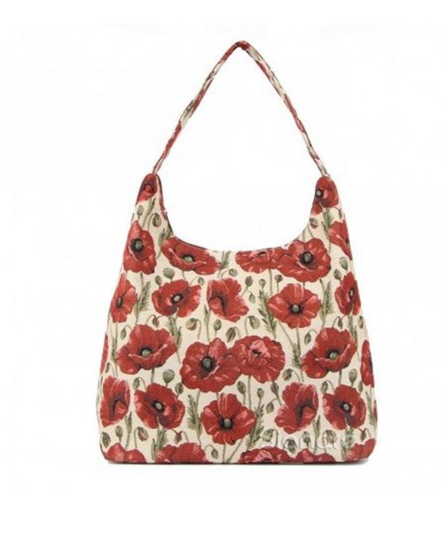 Poppy Collection Hobo Bag