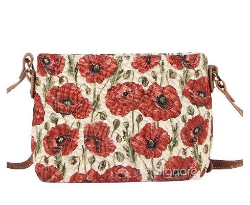 Poppy Design Across Body Bag by Signare