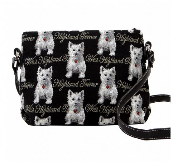 Signare Westie Collection  Across Body Bag