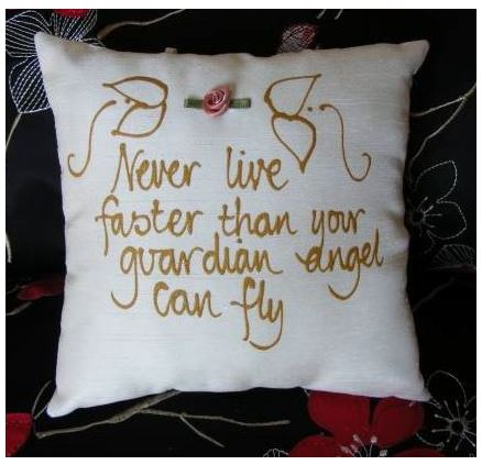 Never live faster...