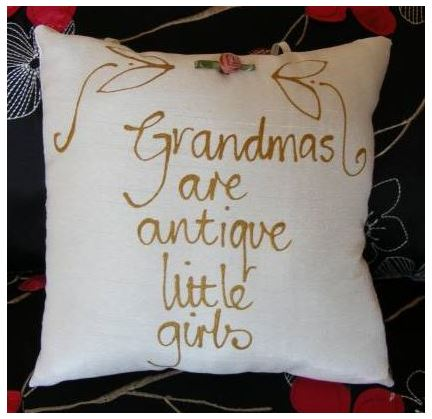 Grandmas are antique little girls