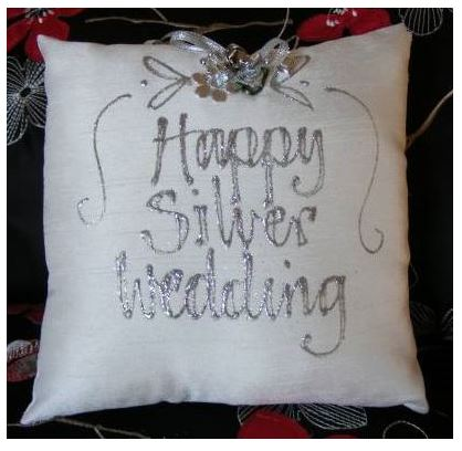 Happy Silver Wedding